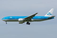 KLM / B772 / PH-BQA / EHAM 18 (_Wouter Cooremans) Tags: ams eham amsterdam amsterdamschipholairport amsterdamschiphol schiphol spotting spotter avgeek aviation airplanespotting klm b772 phbqa 18