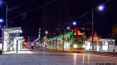 Siemens Combino #510 (ukasz Janowicz) Tags: siemens combino 510 kaponiera pozna mpkpozna tramwaj tram strassenbahn noc nacht linia2 linie2
