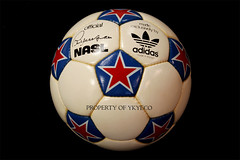 NASL 1975 MADE IN FRANCE ADIDAS MATCH BALL 01 (ykyeco) Tags: france ball football fussball top soccer ballon made 1975 match bola adidas pelota palla balon pallone in    omb  nasl  spielball