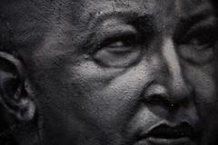 Une légende est née, Hugo Chavez painted portrait _MG_8178001