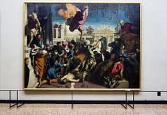 Tintoretto, The Miracle of the Slave, gallery view