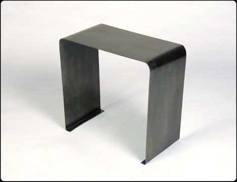 Cutting Corners End Table