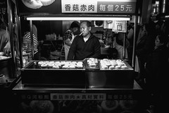 ( (Jason Lin)) Tags: people night blackwhite nikon market vendor taipei      d600   35mmf14g