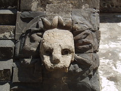 Feathered Serpent, Teotihuacan (Aidan McRae Thomson) Tags: mexico ancient ruins pyramid teotihuacan quetzelcoatl