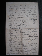 One of The Last Letters Sent from The Titanic. Posted in Queens Town Ireland 11th April 1912. (Jimmy Big Potatoes) Tags: ship iceberg atlanticocean oceanliner whitestarline rmstitanic tragedie