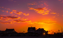 Sunset (Jas Bassi) Tags: sunset beach photography nikon jas northjersey sunsetatbeach bradleybeachnj sunsetphotography romanticsunset nikond90 jasbassi jasbassiphotography northjerseybeach northjerseyshore