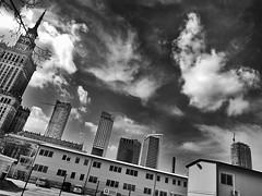 centrum (pajonki) Tags: bw metro centrum warszawa marszałkowska pajeczaki wieżowce pajeczakiblog pajeczakifoto