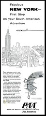 Pan American Airline (Harald Haefker) Tags: new york ny promotion vintage ads print advertising pub publicidad reclame ad retro anuncio advertisement nostalgia american 1950s airline advert pan 1956 werbung publicit reklame affiche publicitario pubblicit rclame pubblicizzazione