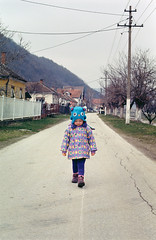 Lara | Dobra. (Daire Quinlan) Tags: holiday color colour film kitchen 35mm 50mm diy kodak mark f14 serbia lara 100 nikkor 100asa dobra asa100 ektar quinlan c41 2013 adamovic ciyc41 fujixpress