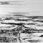 """<b>Winter Reverie</b><br/> Eckheart, #1997:08:08, Ink, Drawing<a href=""""http://farm9.static.flickr.com/8258/8655585348_7ae84114f6_o.jpg"""" title=""""High res"""">∝</a>"""