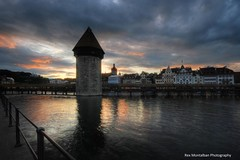 Water Tower and Kapellbrcke (Rex Montalban Photography) Tags: switzerland europe luzern lucerne hdr kapellbrcke rexmontalbanphotography