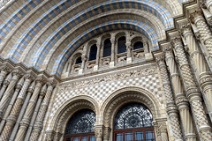 arched (Ian Muttoo) Tags: uk england london museum architecture unitedkingdom gimp naturalhistorymuseum londonnaturalhistorymuseum naturalhistorymuseumlondon 20121020144353edit