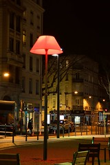 A quiet night... (erikomoket) Tags: street city light france night nikon lyon streetlamp explore  ville    d3200 inexplore seeninexplore inandoutofexplore   erikomoket