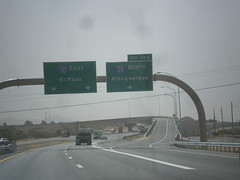 I-10 East - Exit 144 (sagebrushgis) Tags: newmexico sign intersection i10 lascruces i25 biggreensign freewayjunction