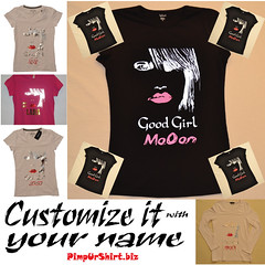 good girl mooon (Pimpurshirt) Tags: girl fashion good saudi arabia jeddah mooon ksa جدة جده تيشيرت pimpurshirt صممتيشيرتكعلىكيفك