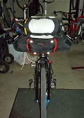 Fargo Bikepacking prep (Doug Goodenough) Tags: trip camping bicycle spring tour seat pack april handlebar bags luxy salsa titanium ti fargo bedrock ragley 2013 revelate drg53113pbikeprep drgbedrockhandlebarbag