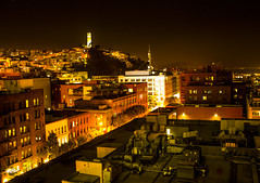 Battery (ojbyrne) Tags: sanfrancisco nightphotography coittower telegraphhill batterystreet