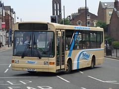 Go-North-East 593 T424AGP (Will Swain) Tags: uk england bus london buses general 1st britain north july tyne wear east 2009 sunderland lanarkshire croy pte goahead canavan dml24