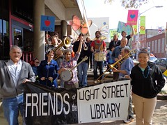 National Library Week Parade at Light Street Branch, April 20, 2013 (Enoch Pratt Free Library) Tags: parade lgh nationallibraryweek lightstreet enochprattfreelibrary