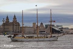 Alva (das boot 160) Tags: sea alva port liverpool docks river sailing ship ships birkenhead sail mersey