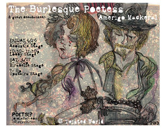 the burlesque poetess & guest decadanceer: amerigo mackeral (mindbum) Tags: burlesque mackeral amerigo poetess