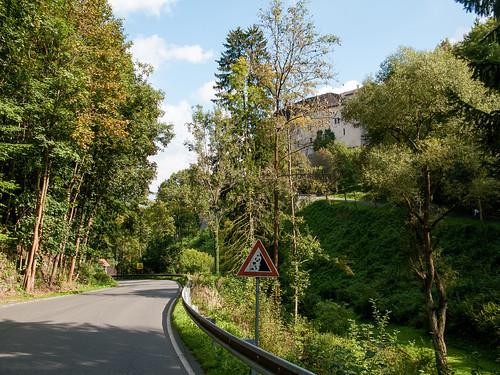 Замок Чешский Штенберк - окрестности
