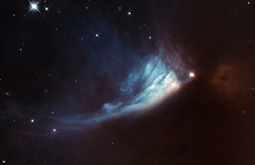 Hubble's View of a Changing Fan