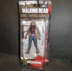 TWD Michonne (mikaplexus) Tags: favorite monster toy toys zombie mint fave collection wicked monsters collectible zombies mib collectibles mcfarlane mcfarlanetoys unopened walkingdead twd thewalkingdead ireallylike mintinbox i3toys