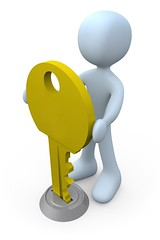 the title (RiseUpLabsLtd.) Tags: yellow illustration turn start person corporate 3d big key tag1 open hole lock render character large ring business huge access enter metaphor keyhole unlock solution entry hold cgi ownership ignition solve