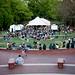 Art2Wear 2013 drew a large crowd on the lawn below the 1911 Building.