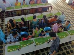 Serving Mealsat a Kerala Wedding (Jennifer Kumar) Tags: india tourism kerala april calicut kozhikode 2013