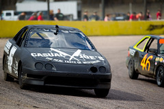 Making a move (Chubby's Photography) Tags: cars car race racing speedway wausau shorttrack shorttrackracing wausauwi