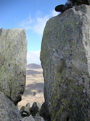 Adam and Eve (fishwickanne) Tags: northridge adamandeve tryfan thecannon