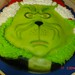 The grinch ( from james carrey movie) cake
