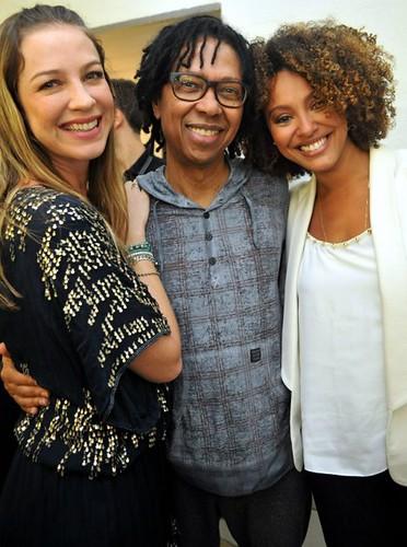 Luana Piovanni , Djavan e Sharon Menezes