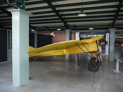 Bleriot XXVII (A.Nilssen Photography) Tags: white london museum airplane factory aircraft aviation wwi ww1 greatwar graham warbird raf worldwar1 bleriot hendon royalairforce monoplane 2013