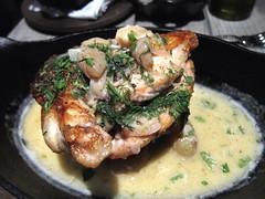 Roasted Lemon Chicken (Pabo76) Tags: new york city nyc food ny chicken greek lemon queens astoria taverna mp ditmars uploaded:by=flickrmobile flickriosapp:filter=nofilter 먹스타그램