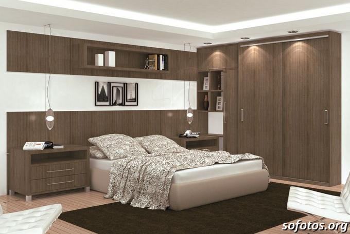 Quarto De Casal Planejado Em Recife ~ Fotos de quartos de casal planejados e decorados