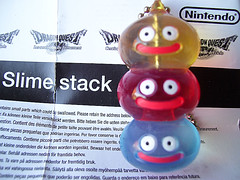 Slime Stack (Chimerastone) Tags: cute japan toy keyring phone charm mascot videogames gaming kawaii collectible gashapon squareenix