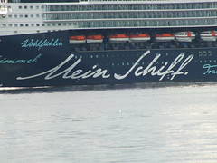 Mein Schiff departs Greenock on the Clyde (westernsmt) Tags: cruise scotland clyde greenock may mein schiff tui inverclyde 2013