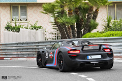 918 Spyder (Raphal Belly) Tags: black paris car matt de french photography eos hotel riviera noir photographie martini casino spyder montecarlo monaco mc belly exotic porsche 7d passion 23 mate raphael rb supercar spotting supercars noire raphal 918 principality