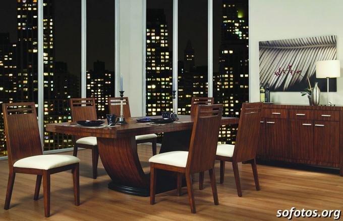 Salas de jantar decoradas (18)