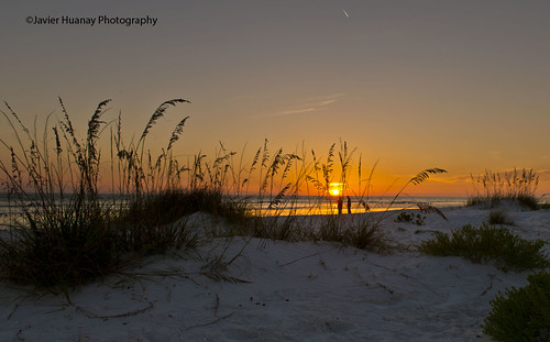 Sunset al Lido Beach-Sarasota Florida