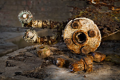 Piping (Ardeer Munitions Factory) (Lindsey Collie) Tags: texture rust factory piping ayrshire munitions ardeer