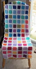GrannyPatches (Crochet Attic) Tags: baby scarf handmade crafts crochet dishcloth babyhat potholder grannysquares crochetatticblogspotcom