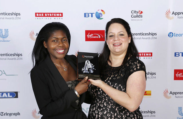 National Apprenticeship Awards 2014 : LG Arena : NEC