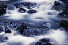 Long Exposure #3 (antony5112) Tags: longexposure mountain water river waterfall stones blu fiume pietre waterfalls acqua montagna cascate cascata
