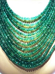 632 cts Emerald Bead Necklace 2 (cottagedel) Tags: emerald beads naturalstone finejewellery indianjewellery handmade