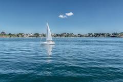 Plaisance sur le Golfe du Morbihan (Stphane Slo) Tags: france paysage pentax pentaxk3ii bateau bretagne clouds eau golfedumorbihan landscape mer nuages plaisance portnavalo presqulederhuys voilier t