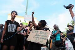 Black Lives Matter- Demo in Berlin, Juli 2016 (bsdphoto) Tags: demonstration protest demo berlin politik blacklivesmatter rassismus solidaritt schwarze blackcommunity peopleofcolor farbige zwischenkundgebung kundgebung oranienplatz oplatz erhobenefaust kmpferisch deutschland deu